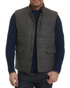 Valley Quilted Wool-Blend Vest