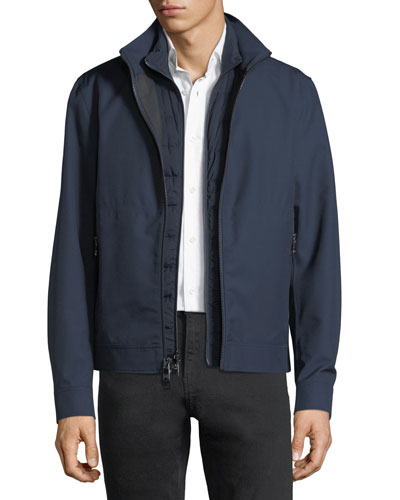 3-in-1 Weatherproof Wool Jacket