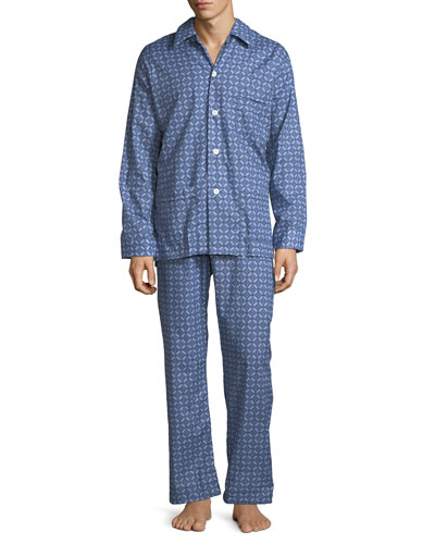 Derek Rose Ledbury 1 Classic - Fit Pajama Set