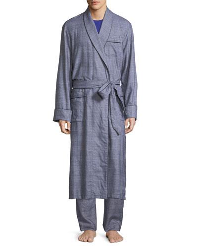 Original Jacquard Robe (Sky) bOg7plOv