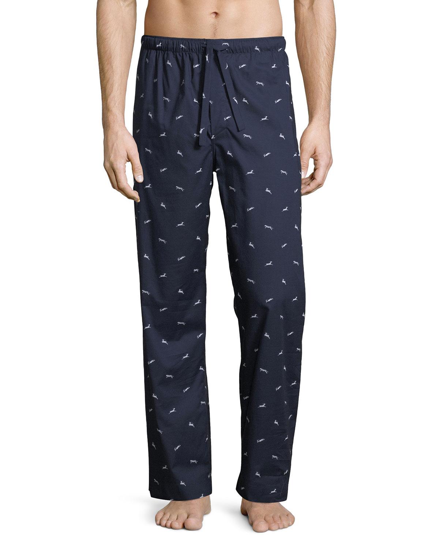 Nelson 61 Animal-Print Pajama Pants