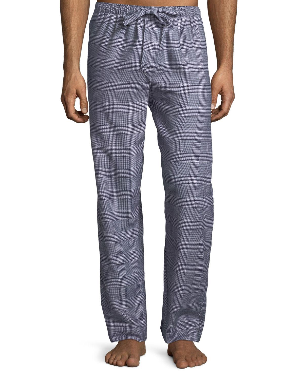 Ranga 29 Plaid Cotton Lounge Pants