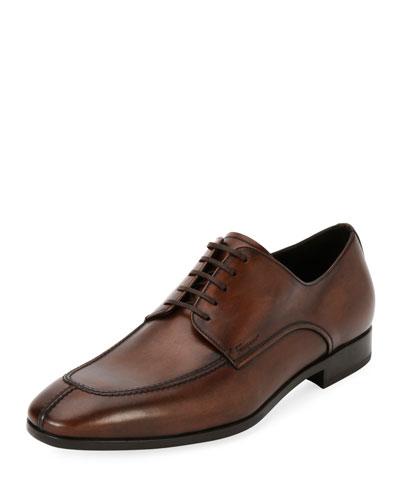 Calfskin Leather Blucher