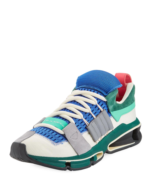 Adidas Originali Degli Uomini Twinstrike Avanzata Colorblock In Scarpe Da Ginnastica