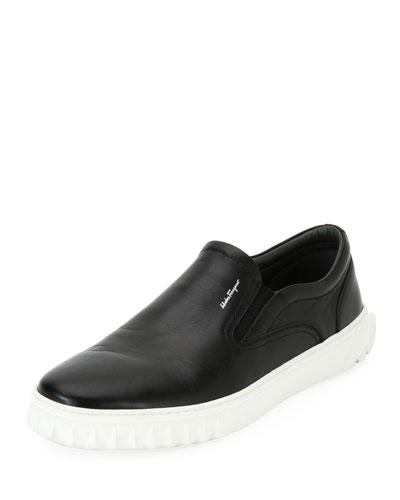 Calfskin Leather Skate Shoe