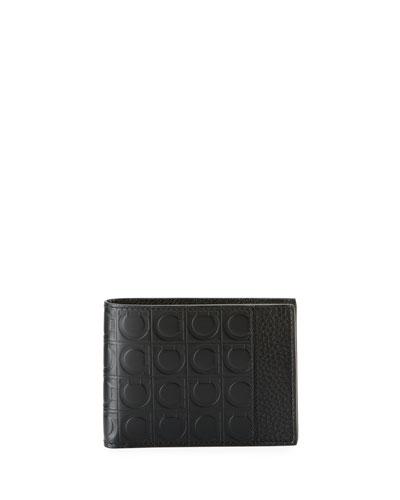 Men's Firenze Gamma Bi-Fold Leather Wallet