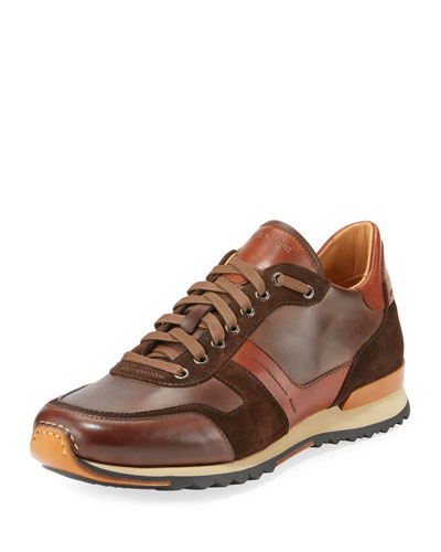 Men's Leather & Suede Sneaker