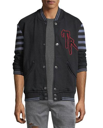 Collegiate Cotton Varsity Jacket
