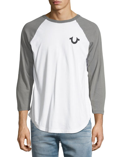 Embroidered Baseball T-Shirt