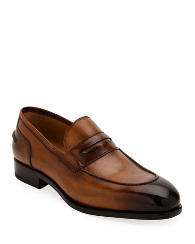 Special Edition Tramezza Calf Leather Penny Loafer