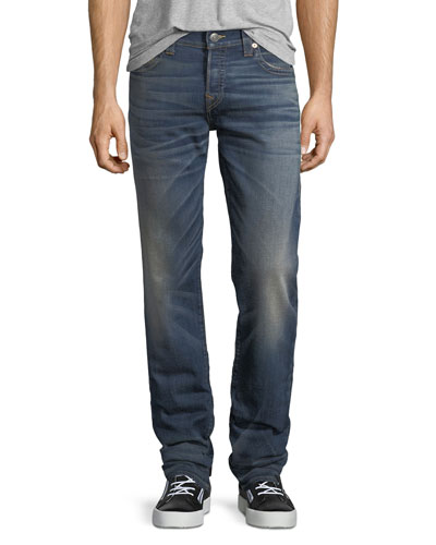 Geno Slim-Straight Stretch Denim Jeans
