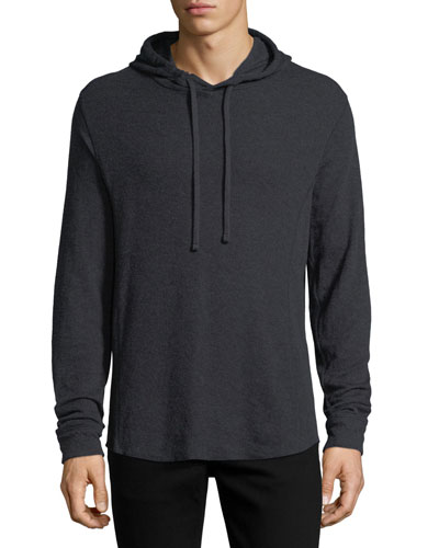 Double-Knit Cotton Hoodie