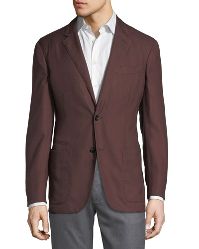 Second Skin Two-Button Blazer