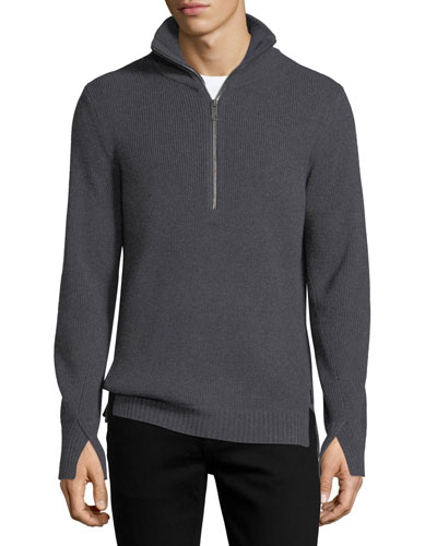 Rodwell Wool Zip Sweater