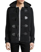 Plymouth Toggle-Front Wool-Blend Coat