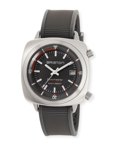 Clubmaster Diver Automatic Watch, Gray