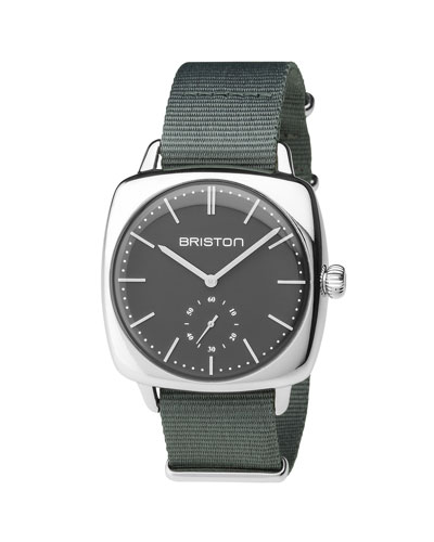 Clubmaster Vintage Chronograph Watch, Gray