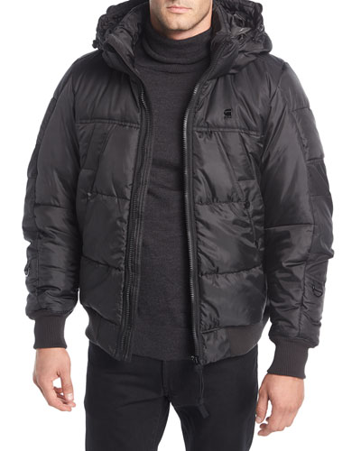 Whistler Hooded Puffer Bomber Jacket