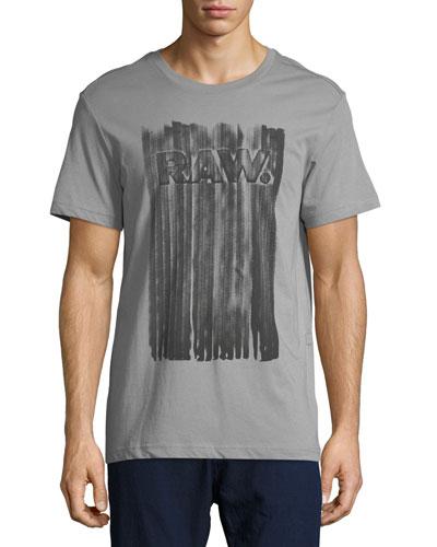 Pertos Logo T-Shirt, Charcoal