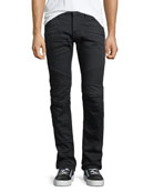 Men's Blinder Biker Jeans, Blacklight