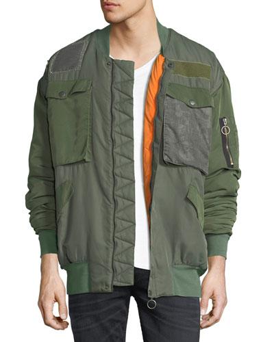 The Echo Oversized Bomber Jacket, New Order