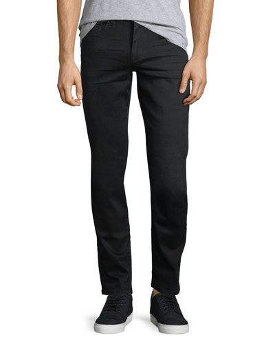 Brixton Kinetic Denim Slim-Straight Jeans, Black