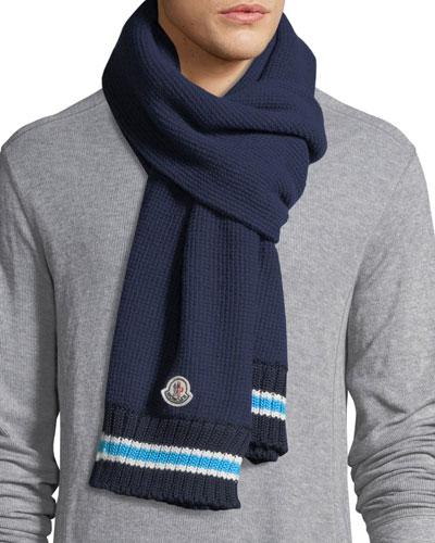 Sciarpa Wool Knit Scarf
