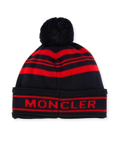 moncler black red
