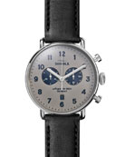 Men's 43mm Canfield Chronograph Watch