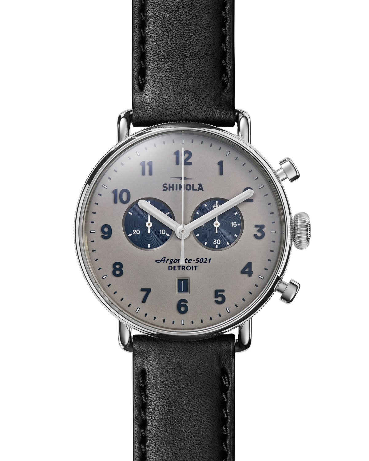 43mm Canfield Chronograph Watch