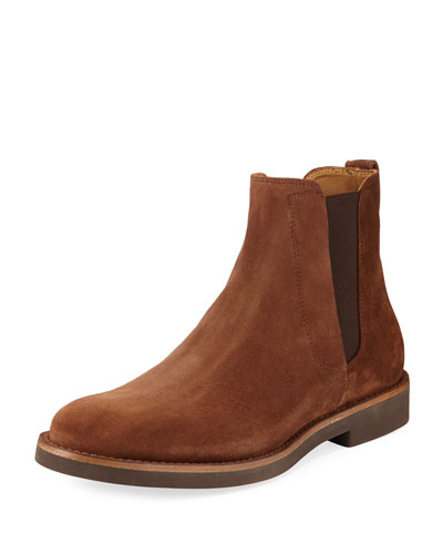 Felix Bark Suede Gored Boot