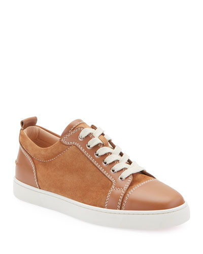 Men's Louis Junio Suede Low-Top Sneakers