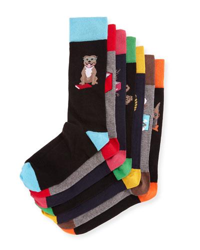 Dog Days 7-Pack of Socks