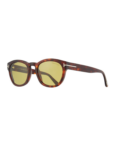 Bryan Round Acetate Sunglasses