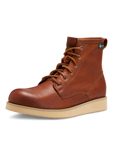Kyle 1955 Leather Lace-Up Boot, Peanut