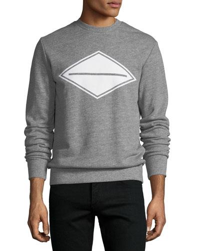 Diamond Logo-Graphic Sweatshirt