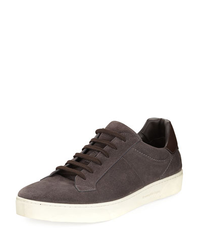 Vulcanizzato Men's Suede Low-Top Sneakers