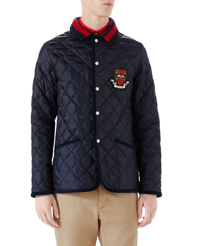 Caban Quilted Jacket