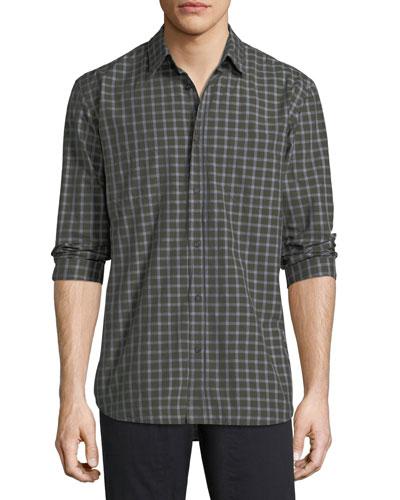 Randall Check-Print Sport Shirt