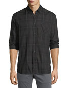 Wallace Plaid Sport Shirt