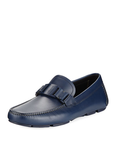 Calf Leather Driver with Tonal Bit