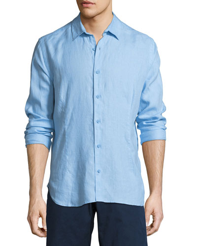Meden Tailored Linen Sport Shirt