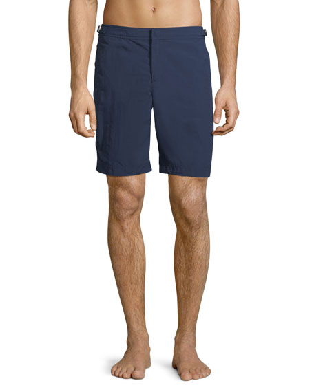 Orlebar Brown Men's Dane II Solid Swim Trunks