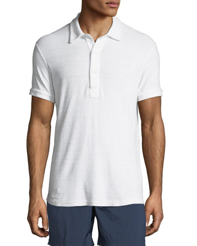 Sebastan Terry Cloth Polo Shirt