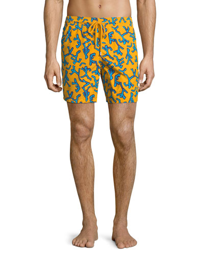 Moorea Danse du Feu Swim Trunks