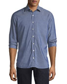 Chambray Long-Sleeve Shirt