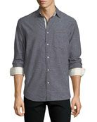Men's Fit 3 Beach Contrast-Face Shirt