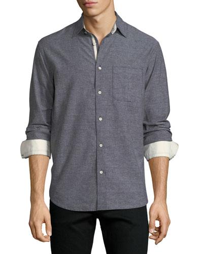 Men's Fit 3 Beach Contrast-Face Shirt