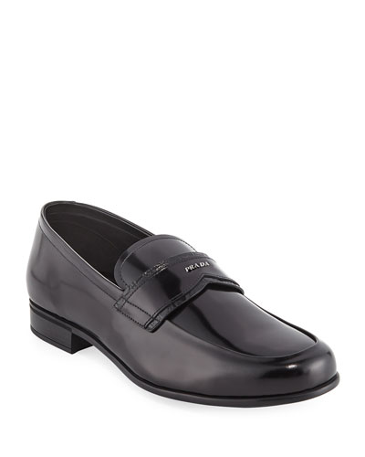 Spazzolato Leather Loafer