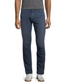 Men's Tyler Slim-Fit Jeans, French Terry